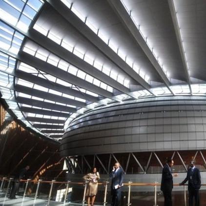 中建援建非盟会议中心项目