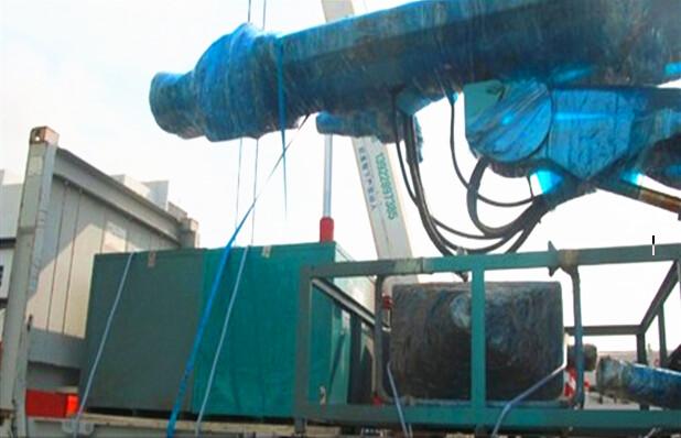 大件设备挖机出口印尼业务案例