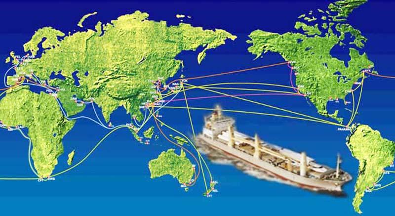 国际海运主要航线