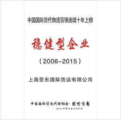 2006-2015稳健型企业