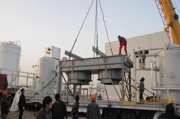 内蒙达拉特旗油气设备项目