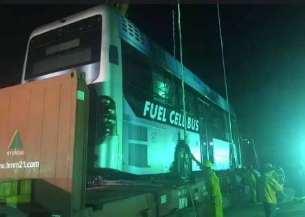 佛山飞驰新能源客车出口温哥华案例