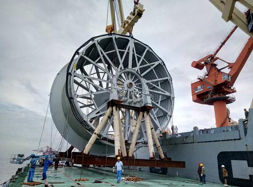 中远船厂船用平台进口