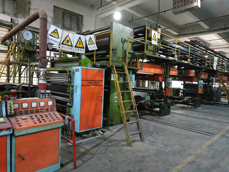 亚东案例——二手瓦楞纸生产设备出口孟加拉国