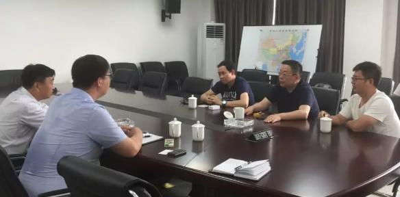 亚东国际物流集团副总裁劳宁一行考察徐州综合保税区